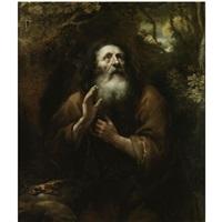 a hermit saint by jürgen ovens