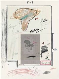 no. iii (from natural history part i) by cy twombly