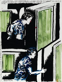 untitled (sure looks real...) by raymond pettibon