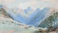 chasseurs alpins en montagne by pierre comba