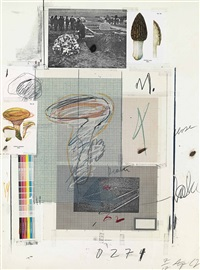no. vii (from natural history part i) by cy twombly