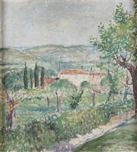 paesaggio collinare by orazio pigato