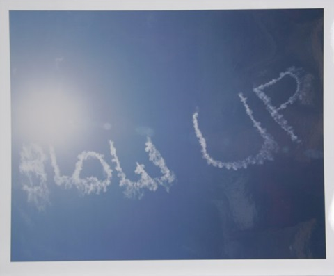blow up from portfolio en el cielo by rirkrit tiravanija