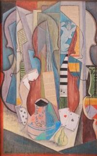 composition cubiste by petroff