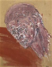 head ii by leon golub