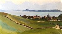 paysage maritime vallonné by maurice le scouezec