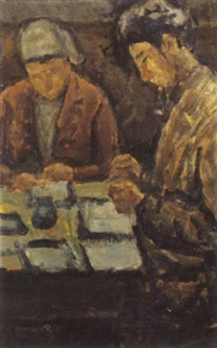 personnages dans un intérieur by romain kramstyk