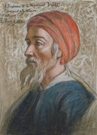 portrait d'homme by edouard moyse