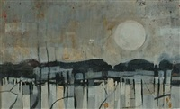 landscape no. 1 by kenneth burrows