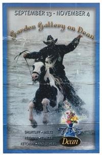 black cowboy by nate lowman