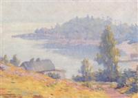 untitled - summer cove by carl wendell rawson