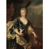portrait of marguerite louise d'orleans, grand duchess of tuscany by french school (17)