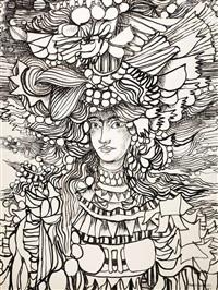 figura ornamentada by rené portocarrero