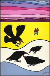 ravens and lovers by ted harrison