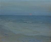 seascape by augustus vincent tack