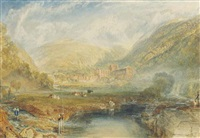 rievaulx abbey, yorkshire by joseph mallord william turner