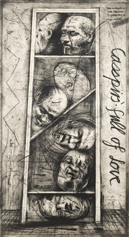 casspirs full of love by william kentridge