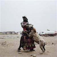 abdullahi mohammed with mainasara, ogere-remo, nigeria from the hyena men ii by pieter hugo