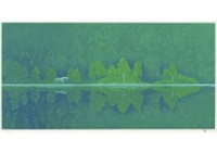 poetry of green by shinkichi (kaii) higashiyama