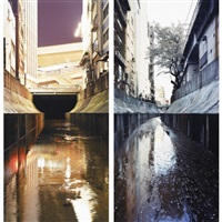river series #2 (+ river series #9; 2 works) by naoya hatakeyama