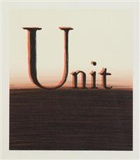 unit by ed ruscha