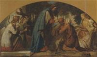 austeilung des anbendmahles durch christus by carl gottlieb peschel