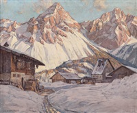 bauerngehöfte im hochgebirge by lois alton