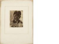 tete du jeune fille by paul cézanne