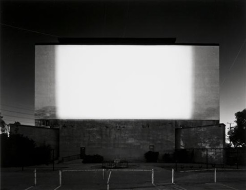 centinela drive in los angeles 707 by hiroshi sugimoto