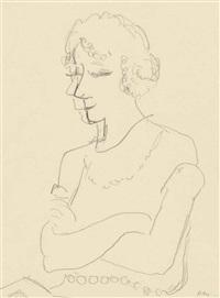 portrait de marguerite by henri matisse