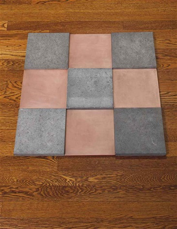 copper blue odd niner in 9 parts by carl andre