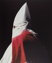 klansman (great titan of the invisible empire), 1990 by andres serrano
