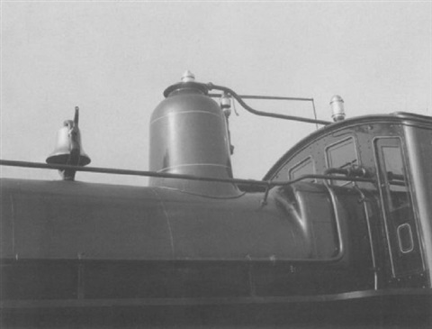 engine detail of penn class h3 built 1888 ny worlds fair by beaumont newhall