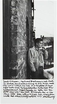 jack kerouac on the fire escape by allen ginsberg