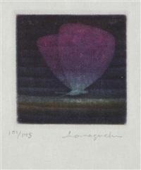papillon violet by yozo hamaguchi