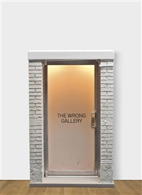 the 1: 6 scale wrong gallery by maurizio cattelan