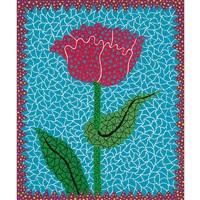 tulipe(ii) by yayoi kusama