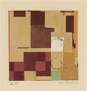 artwork by kurt schwitters