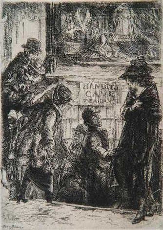 bandits cave by john french sloan