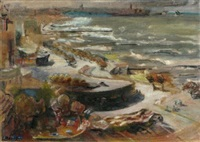 a view to jaffa, cafe piltz by elsa beck