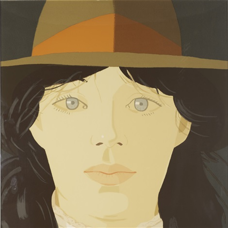 the orange band by alex katz