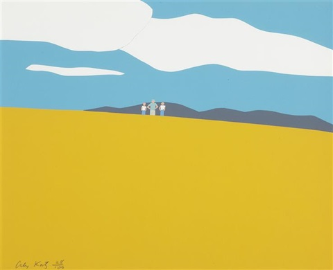 blueberry field by alex katz