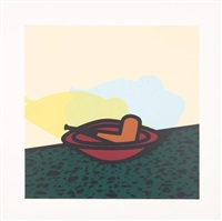 pipe in bowl by patrick caulfield