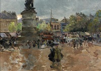 la place clichy by louis abel-truchet