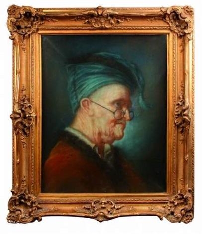 portrait dhomme by jean baptiste siméon chardin