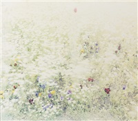 elephant (for the flowers) by ori gersht