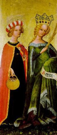 die heiligen dorothea und caecilia by austrian school salzburg 15