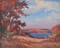 view over the water by manly edward macdonald