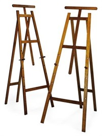 easels (pair) by howard & sons