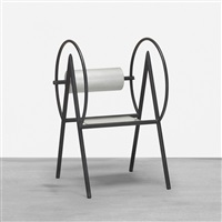 important and early chair by marc newson